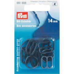 Prym Bra accessories plastic 14mm - 5pcs.  I