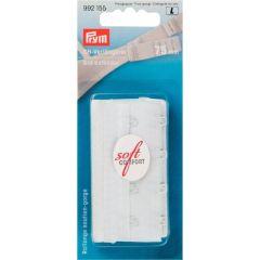 Prym Bra extender 75mm 3 x 4 hooks white - 5pcs.  L