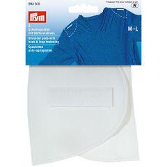 Prym Shoulder pad hook-loop set-in M-L white - 2x5pcs