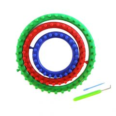 Knitting ring set (3st) 14-19-24 cm Knit Quick - 1pc