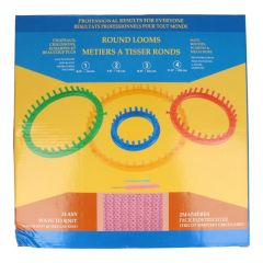 Knitting ring set (4st) 14-19-24-29cm Knit Quick - 1pc