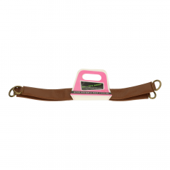 Bag handle leather 30cm - 3 pairs