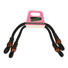 Bag handle twisted waxed cord  - 3pcs