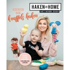 Haken @ home iedereen kan knuffels haken - Bobbi Eden - 1pc