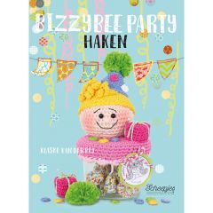 Bizzybee party haken - Klaske van der Bij - 1pc