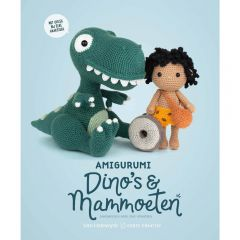 Amigurumi dino's & mammoeten - Joke Vermeiren - 1pc