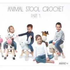 Animal stool crochet 1 - Anja Toonen - 1pc