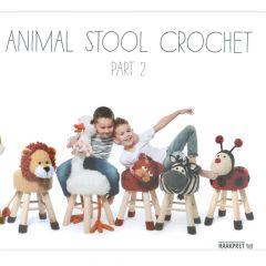 Animal stool crochet 2 - Anja Toonen - 1pc