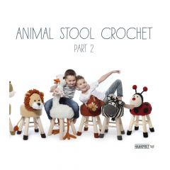 Animal Stool Crochet part 2 - Anja Toonen - 1pc