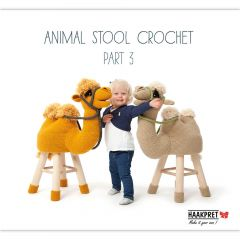 Animal stool crochet part 3 - Anja Toonen - 1pc