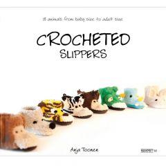 Crocheted slippers - Anja Toonen - 1pc