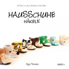 Hausschuhe häkeln - Anja Toonen - 1pc