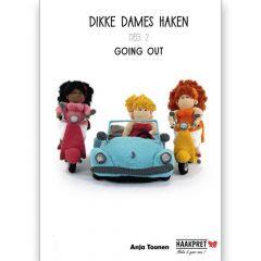 Dikke Dames Haken Deel 2 - Anja Toonen - 1pc