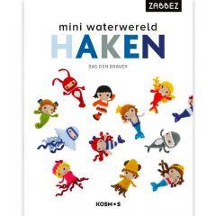 Mini waterwereld haken - Bas den Braver - 1pc