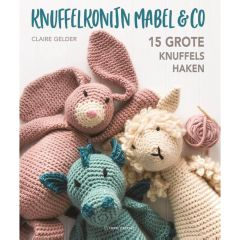 Knuffelkonijn mabel & co - Claire Gelder - 1pc