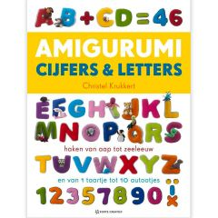 Amigurumi cijfers en letters - Christel Krukkert - 1pc