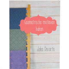 Geometrische motieven haken - Joke Decorte - 1pc