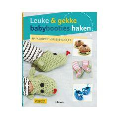 Leuke & gekke babybooties haken - Kristi Simpson - 1pc