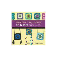 Granny Squares 30 tassen om te haken - Margaret Hubert - 1pc