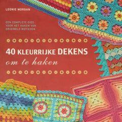 40 kleurrijke dekens om te haken - Leonie Morgan - 1pc