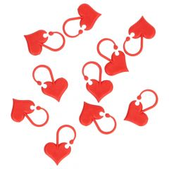 Addi Love stitch markers 6pcs - 1pc