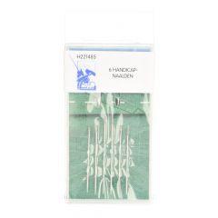 MMJZ Quick threading needles silver - 5x6pcs