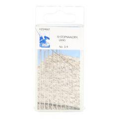 MMJZ Darning needles long no.3-9 silver - 5x10pcs