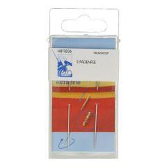 MMJZ Wonder needle extra fine silver - 5x2pcs