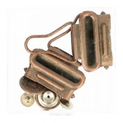 MMJZ Dungaree clasps bronze - 5card