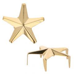 MMJZ Studs Glamour stars Gold 3,80 (20 op pcs) - 5 pcs
