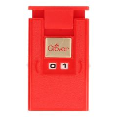 Clover Knitting counter red - 3pcs