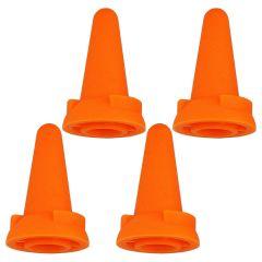 Clover Jumbo point protectors orange - 3x4pcs