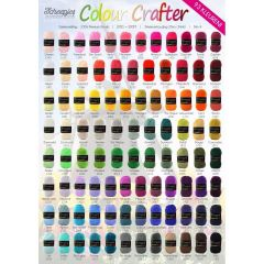 Scheepjes Colour Crafter free Shop poster - A2 size 1p
