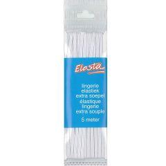 Elasta Lingerie elastic 2mm-5m white - 10 pcs