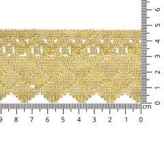 Gold gimp trim 47mm - 8.2m