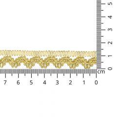 Gold gimp trim 14mm - 16.4m