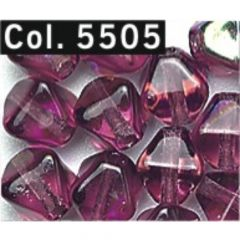 Gütermann Pyramid beads 6mm - 5x60pcs