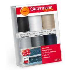 Gütermann Sew-all thread set 6x250m - 1pc