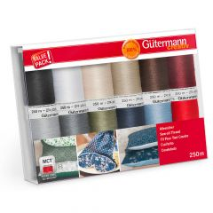 Gütermann Sew-all thread set 12x250m - 1pc