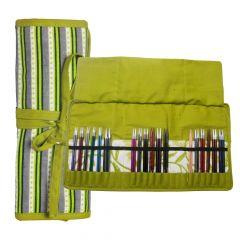KnitPro Greenery case for interchangable needle tips - 1pc