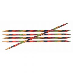 KnitPro Symf. Double-Pointed Needles 15cm 2.00-8.00mm - 3pcs