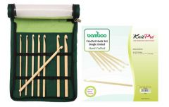 KnitPro Bamboo crochet hook set - 1pc