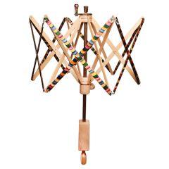 Knitpro umbrella yarn winder with holder - 1pc