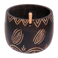 KnitPro Yarn bowl leaves - 1pc