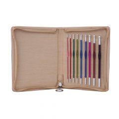 KnitPro Zing crochet hook set 15cm 2.00-6.00mm - 1pc