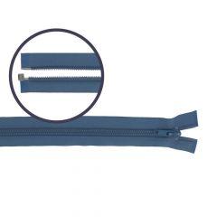 Separating coil zipper nylon 65cm - 5pcs