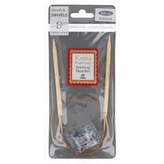Tulip Knina Swivel circular needle 60cm - 2pcs