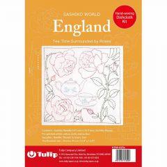 Tulip Sashiko World embroidery kit - 1pc