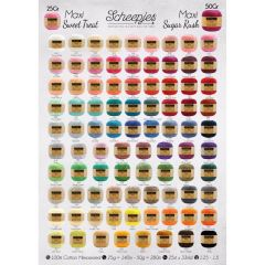 Scheepjes Maxi Bonbon and Sugar Rush free Shop poster A1-1p
