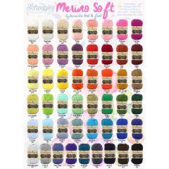 Scheepjes Merino Soft free Shop poster - A2 size - 1 pcs
